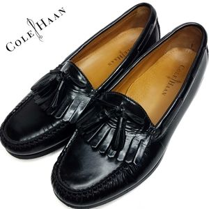 Cole Haan  Pinch Shawl Bow II Loafer Black Mens 9